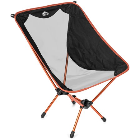 Cascade Mountain Tech Lightweight Backpacking Camp Chair (Cascade Mountain Tech Pop Up Lantern Review)
