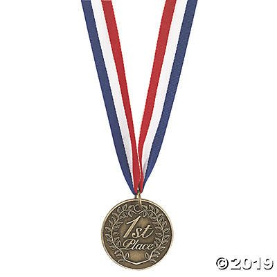Fun Express 1st Place Gold Medallion (6 Medals) for $<!---->