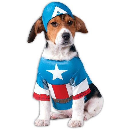 Captain America Pet Costume