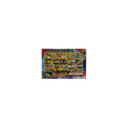 Diecast Construction Set (42 Piece Set) (12 Units Included)