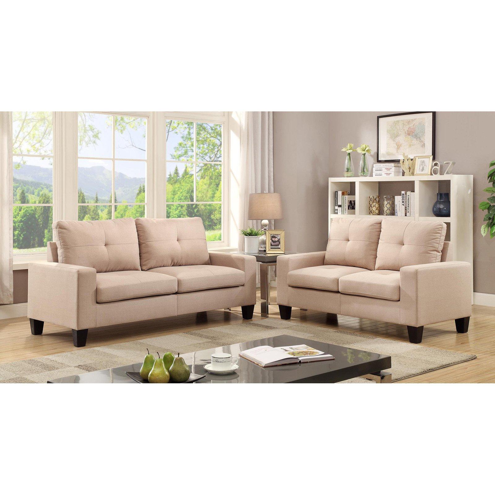 Acme Furniture Platinum II Linen Loveseat