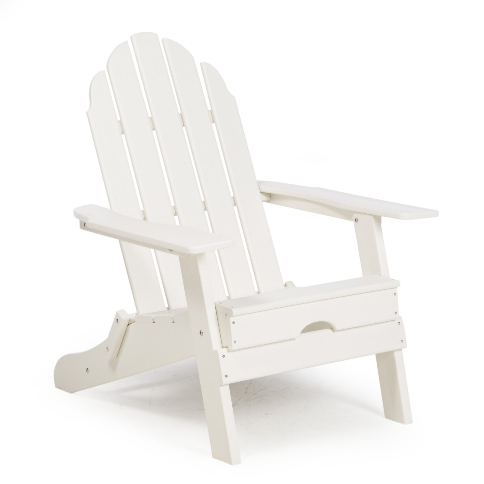 Belham Living Belmore Recycled Plastic Folding Adirondack Chair by