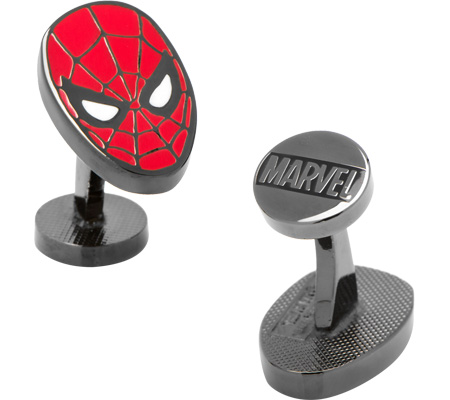 Men's Cufflinks Inc Spider-Man Cufflinks Economical, stylish, and eye-catching shoes