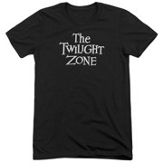 Twilight Zone Logo Mens Tri-Blend Short Sleeve Shirt