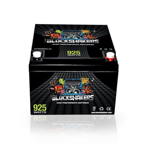 Blockshakers H00254-BLACK-00001 Black 12V 26AH 925 Watts M6/T6 High Current Battery replaces Odyssey PC925
