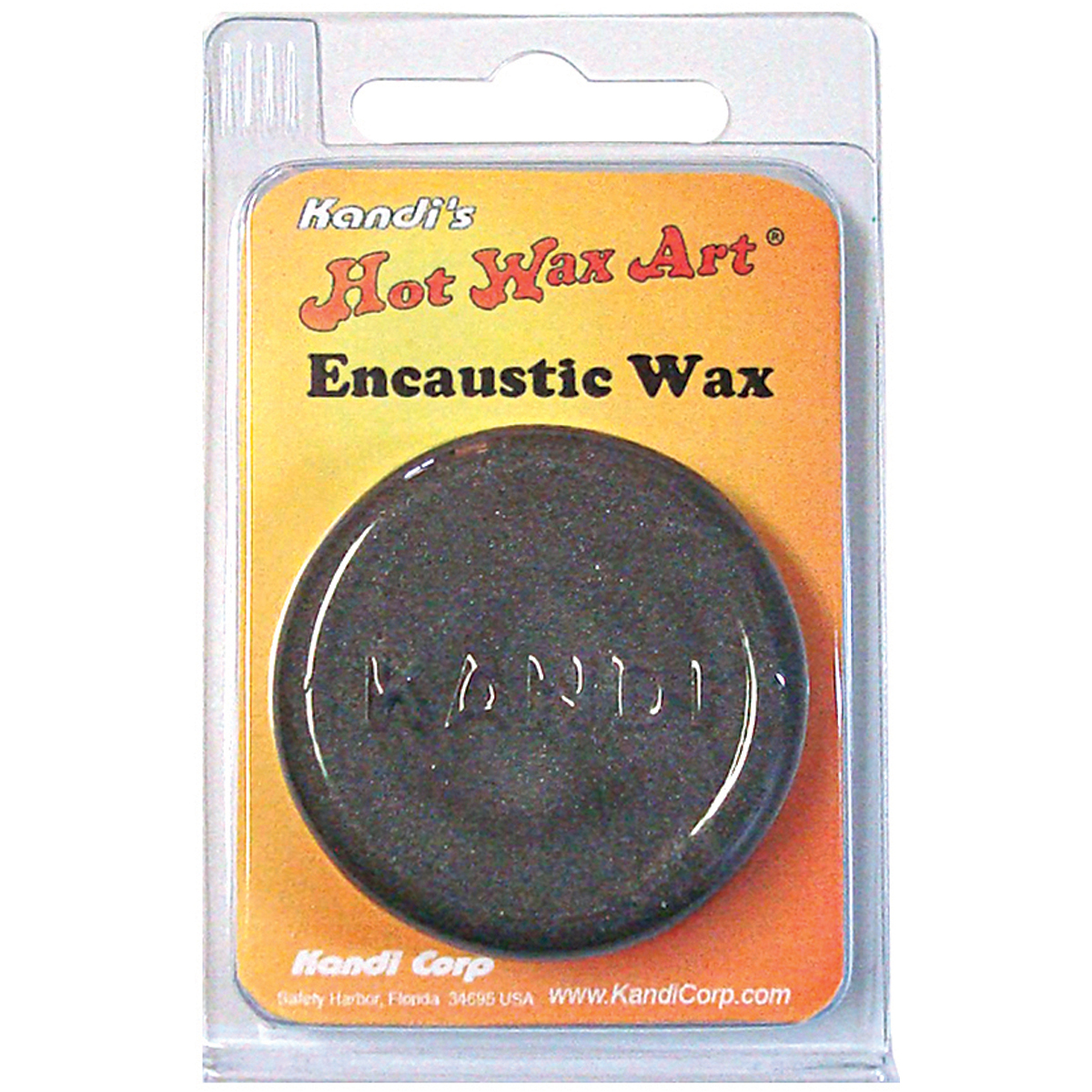 Kandi Hw07519 Metallic Silver Hot Wax Colored Encaustic Pigments