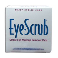 Daily Eyelid Care Eye Scrub Sterile Eye Makeup Remover Pads - 30 Ea