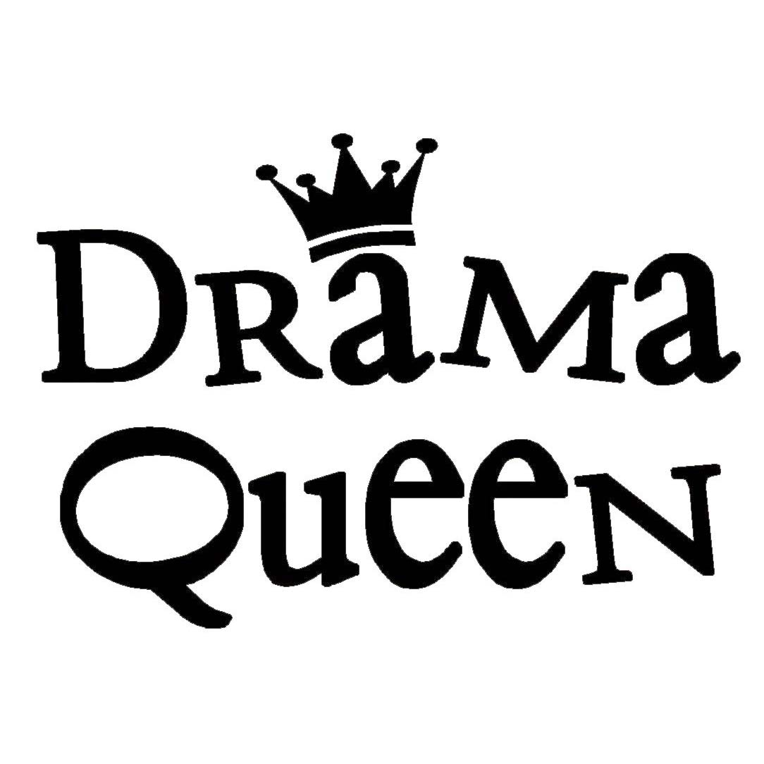 Vinyl Designs 'Drama Queen' Vinyl Wall Art Lettering