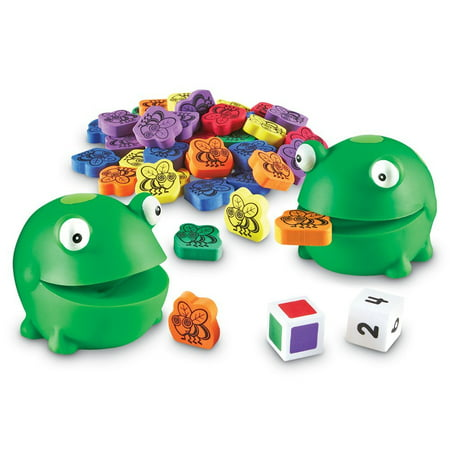 Motor Game - Learning Resources Froggy Feeding Fun, Fine Motor Activity Set, 65 Pieces