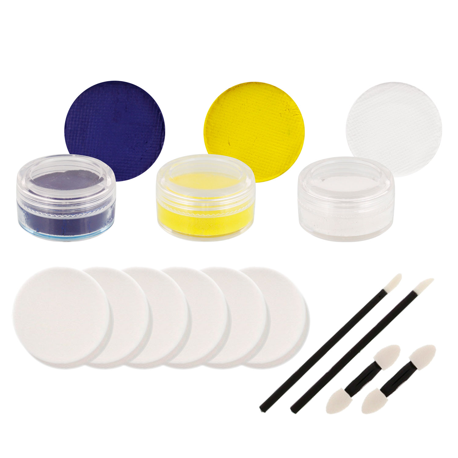 WOLVERINES Football Basketball FACE PAINTING SET Paint