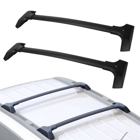 For 2009-2017 Chevrolet Traverse Car Luggage Carrier Top Roof Rack Cross Bar- Max Capacity 165LBS(75kg), NOT Included C Channel
