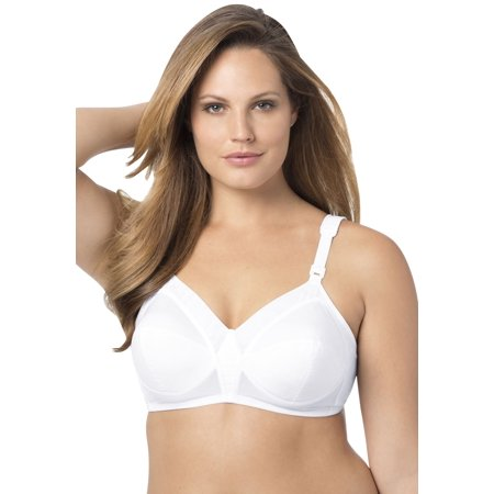 Plus Size Back Hook Bra By Exquisite Form