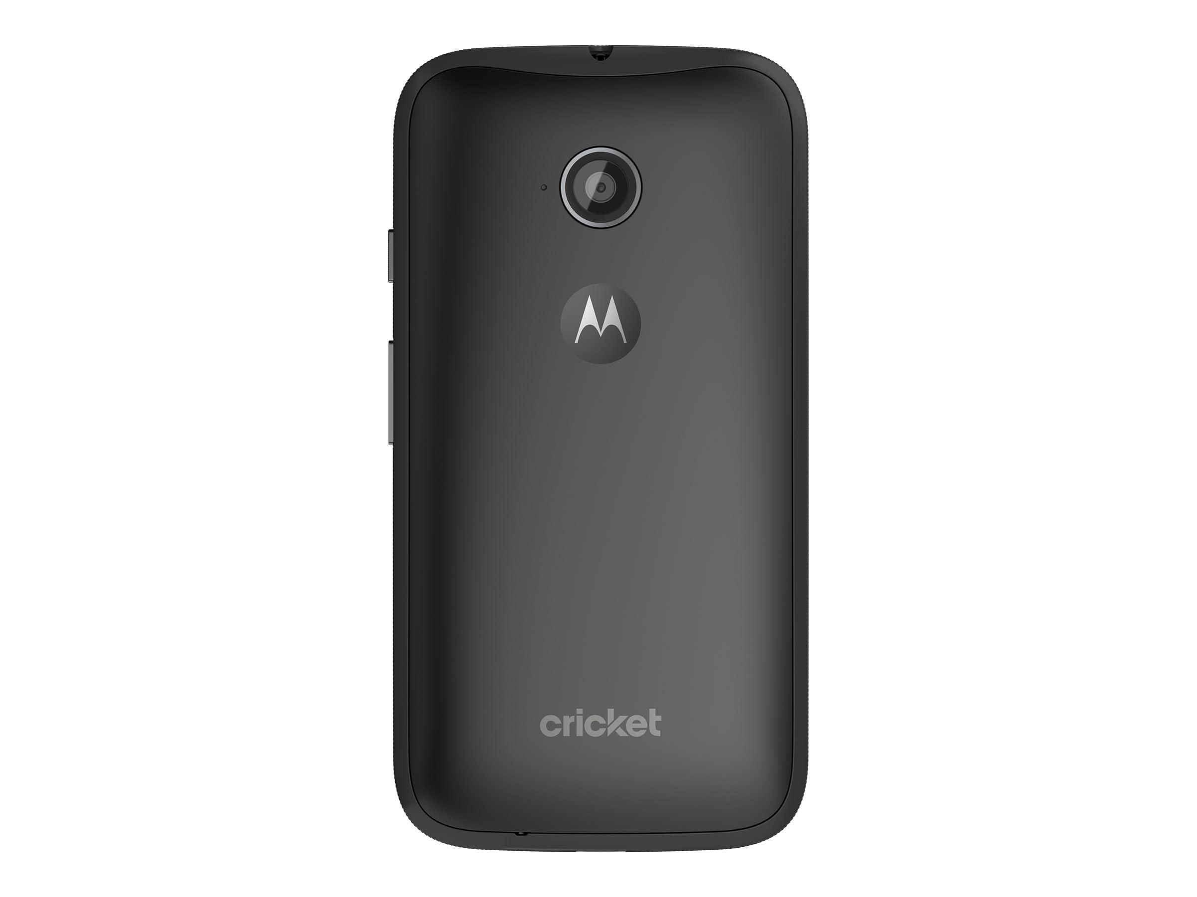 Cricket Motorola Moto E Prepaid Smartphone