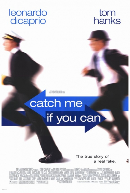 Catch Me If You Can Movie Poster Print (27 x 40) by Pop Culture Graphics