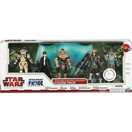 The Force Unleashed Figure Pack Action Figure 1 of 2 Star