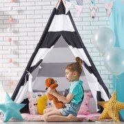 Gymax 5' Indian Play Tent Teepee Children Playhouse Sleeping Dome Portable Carry Bag