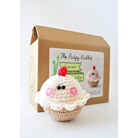 Diy Beginner Crochet Kit Cupcake Walmartcom