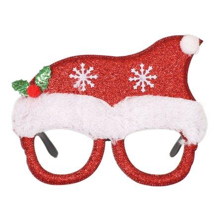 Fysho Christmas Party Glasses Santa Claus Snowman Adult Children Gifts Decoration Toys ()