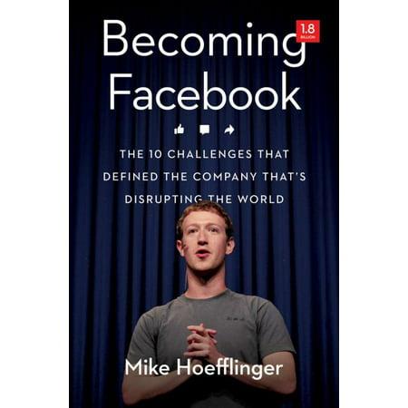 Becoming Facebook, Mike Hoefflinger Hardcover - image 1 de 1