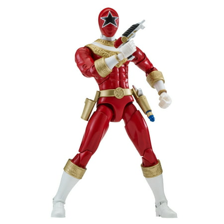Bandai - Power Rangers Legacy, Zeo Red (Red Wing Iron Ranger Vs Wolverine 1000 Mile)