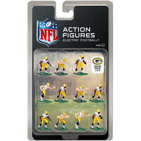 Green Bay Packers Away Uniform NFL Action Figure Set - Packers Uniforms