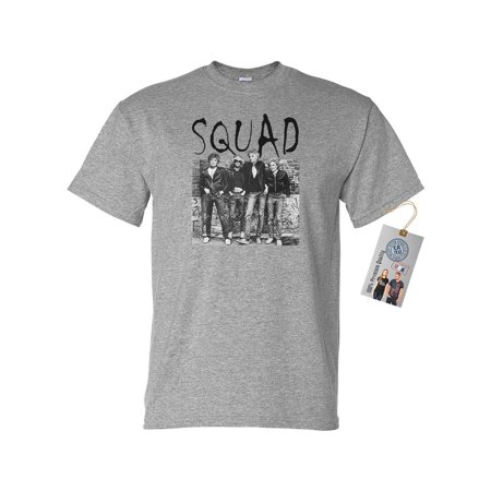 Golden Girls Squad Gang TV Show Mens Short Sleeve Shirt