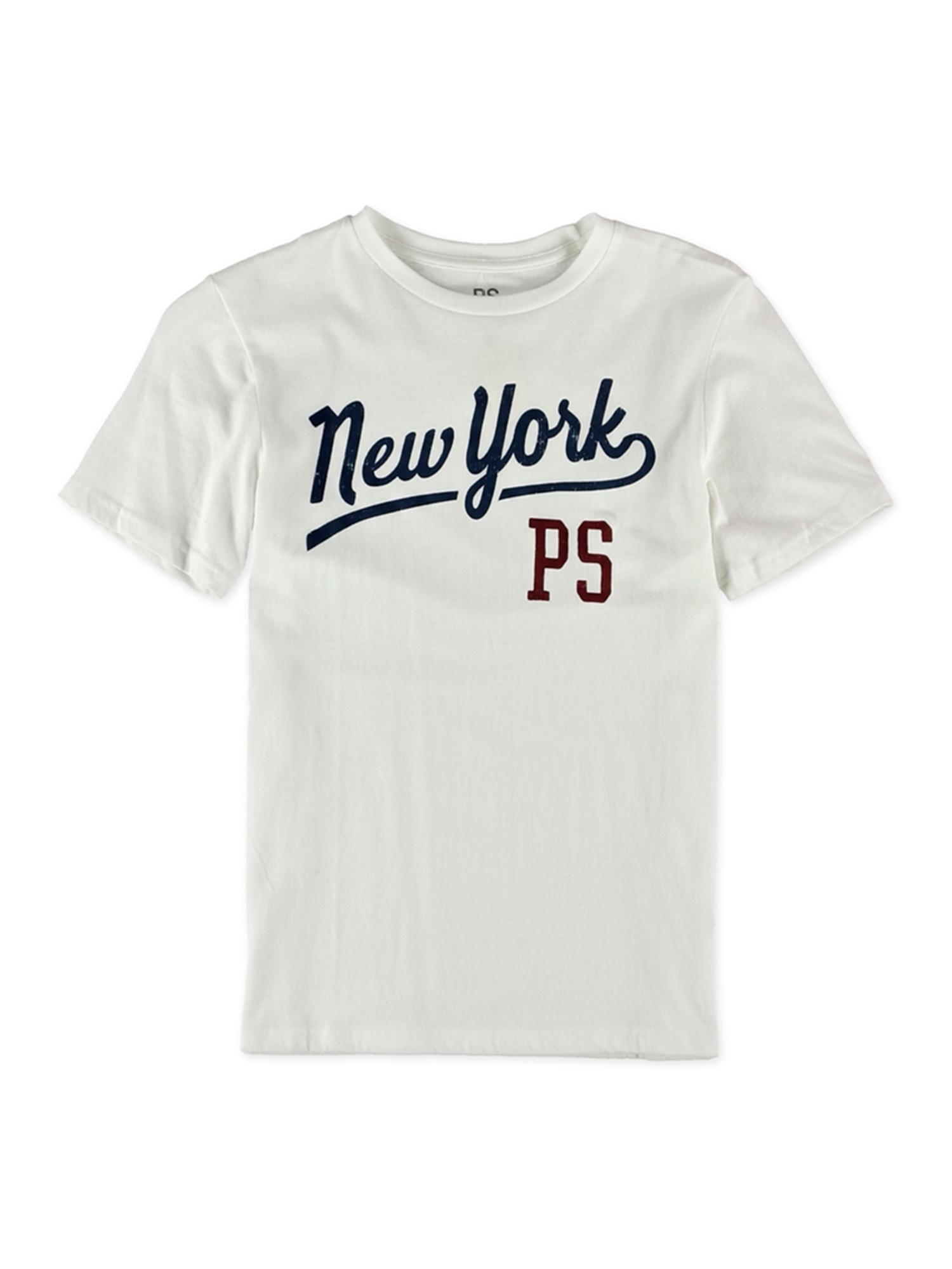 Aeropostale Boys New York Script Graphic T-Shirt