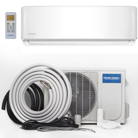- MRCOOL Advantage 12K BTU 17.5 SEER Ductless Mini-Split Heat Pump, with 16 Foot Install Kit