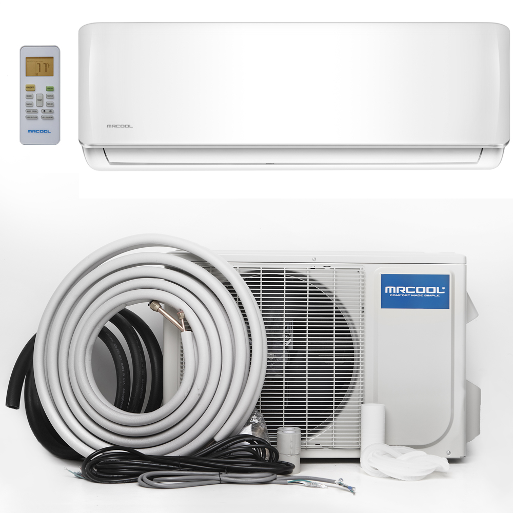 MRCOOL Advantage 18K BTU 17.7 SEER Ductless Mini-Split Heat Pump, with 16 Foot Install Kit
