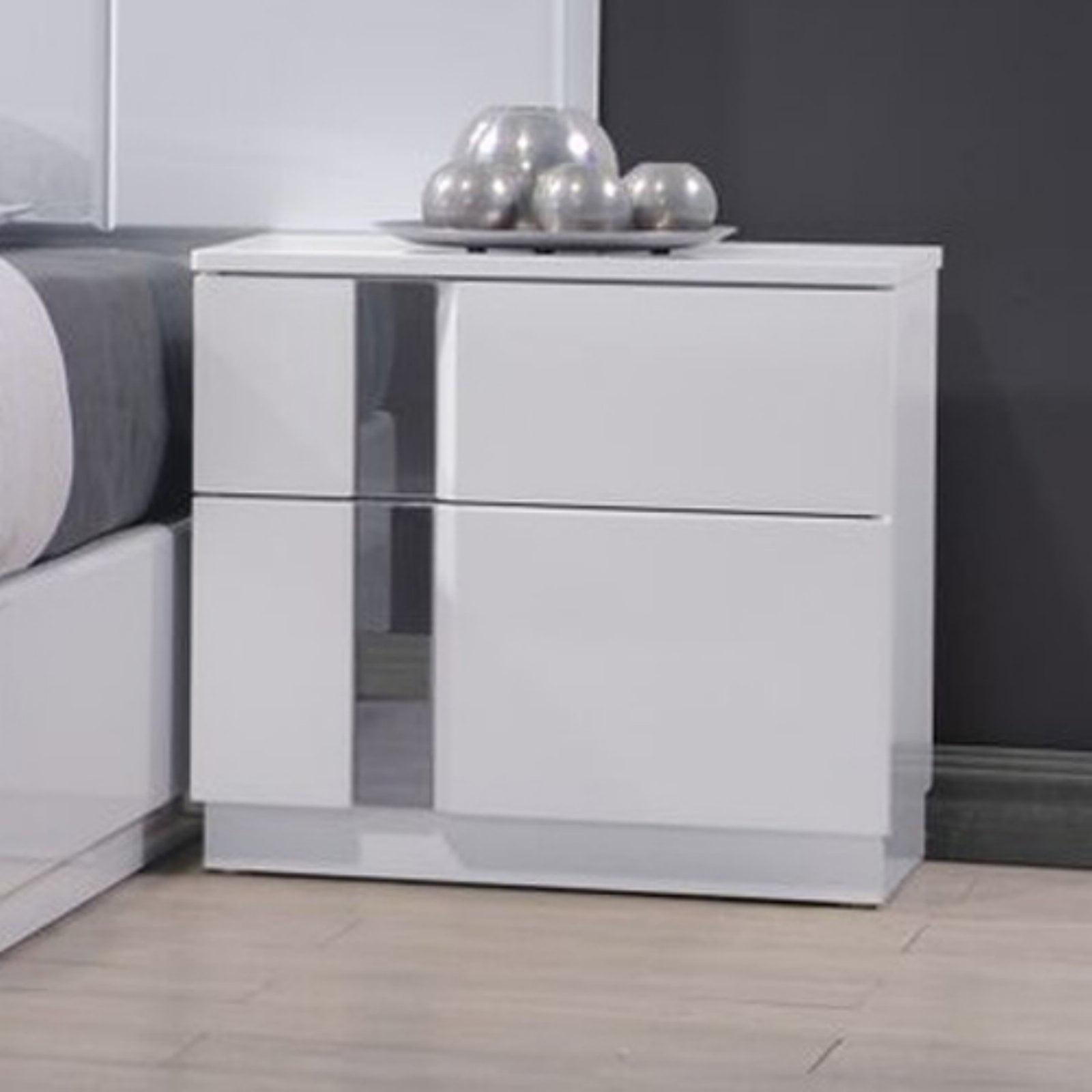 J&M Furniture Palermo 2 Drawer Nightstand