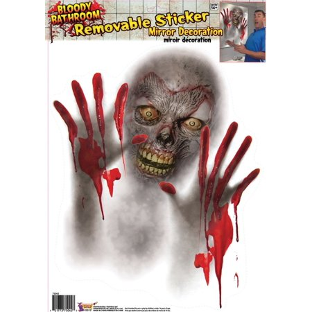 Bloody Creature Mirror Cover Halloween Decoration - image 1 de 1