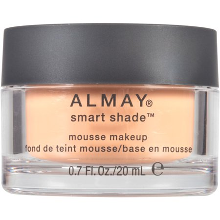 Almay Smart Shade Mousse Foundation, 100 Light, 0.7 fl oz, Light