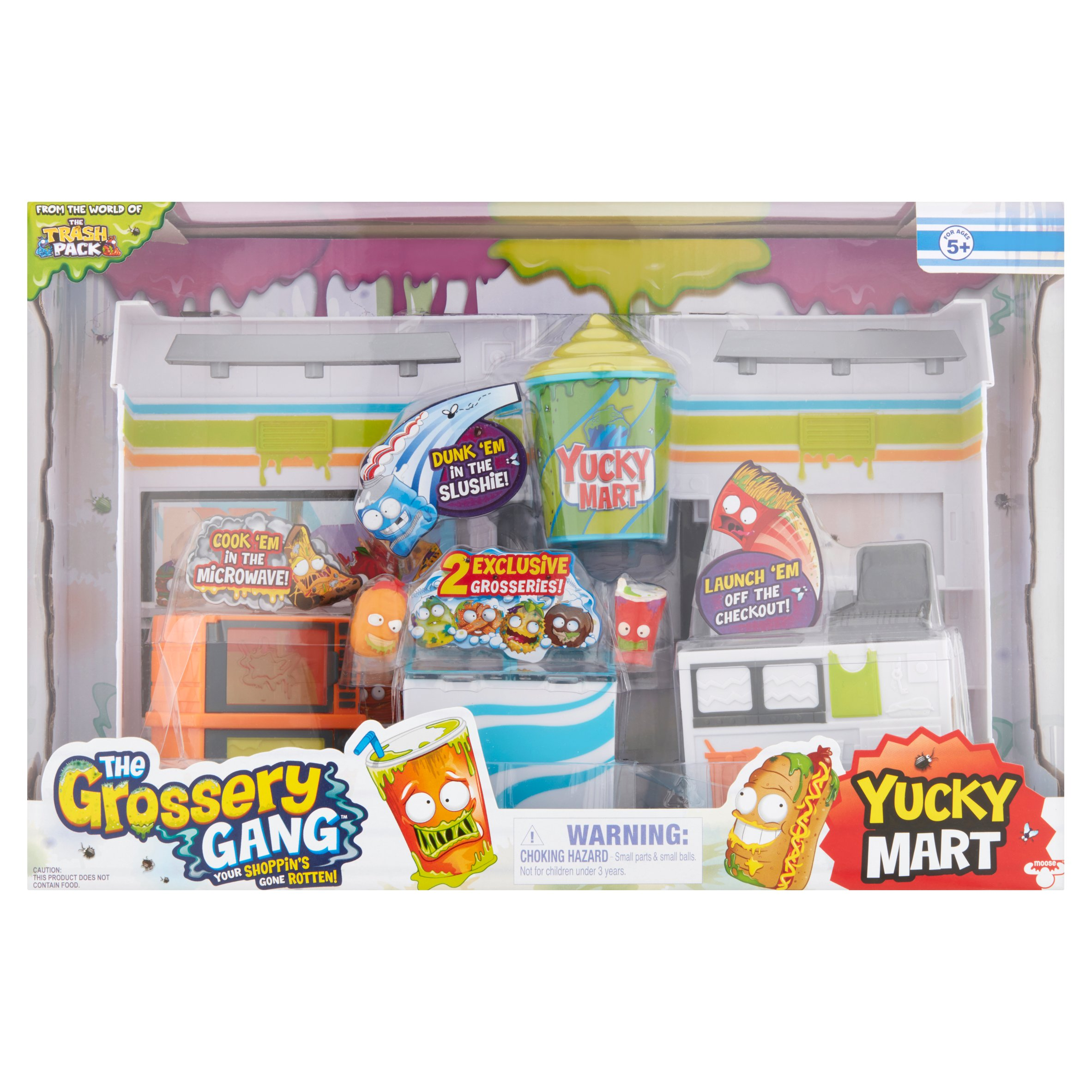 The Grossery Gang Yucky Mart Toys