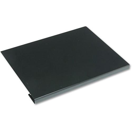 "HON 38000 Series ""L"" Group Corner Sleeve Connector, 22-1/2w x 18d, Black Metal"