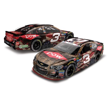 Lionel Racing Austin Dillon #3 DOW Salutes Veterans Charlotte Win 2017 Chevy SS 1:24 HOTO Die-cast