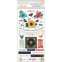 Wildflower & Honey Chipboard Thickers - Vicki Boutin