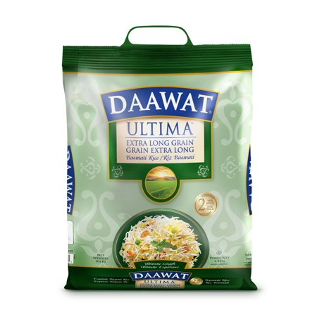 Daawat Ultima Extra Long Grain Basmati Rice, 2-Years Aged, (Difference Between Basmati And Long Grain Rice)