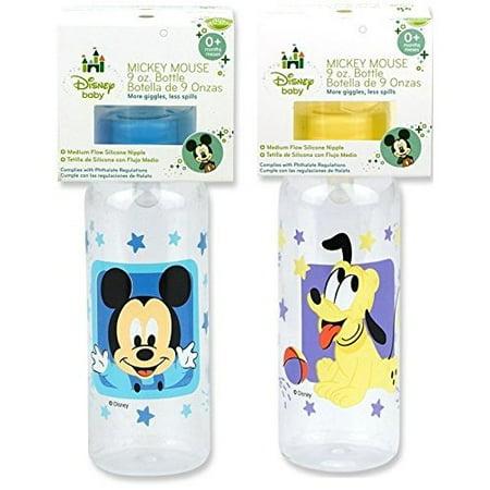 Disney Mickey Bottle (9oz) - Mickey, Mini, Pluto Characters Vary (Hayman Bottle)