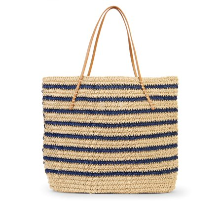 Eliza May Rose Navy Stripe Ultimate Tote