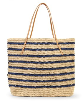 6b331cd9de61 Product Image Eliza May Rose Navy Stripe Ultimate Tote