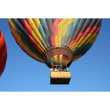 Asheville Nc - LAMINATED POSTER Nc Asheville Hot Air Balloon Poster Print 24 x 36