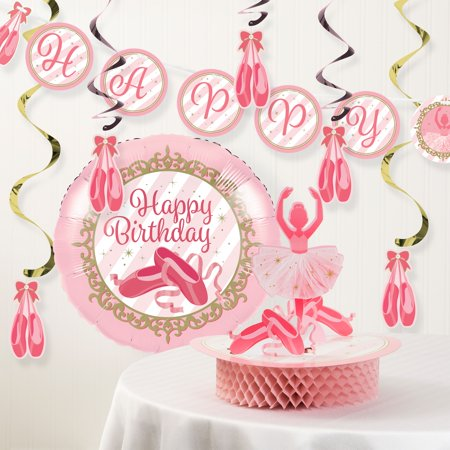 Ballet Birthday Party Decorations Kit - Birthday Party Decorations