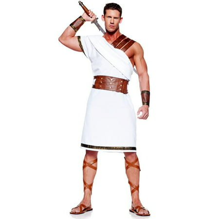 Men's Greek Warrior Adult Costume for $<!---->