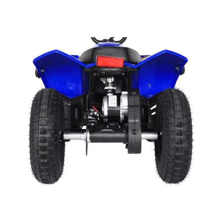 T4B SPARK Mini ATV 250W Brushless Electric KIDS Dirt Quad, 24V13.7Ah, All Terrain, Recreational Outdoors, Off-Road, 3-6 y.o. - Blue - image 8 of 11