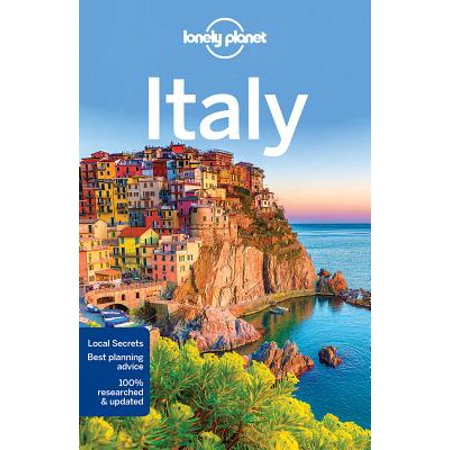 Travel guide: lonely planet italy - paperback: 9781786573513 (Venice Italy Travel Guide)