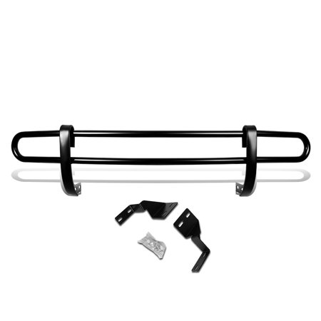 For 2005 to 2010 Honda Odyssey Stainless Steel Double Bar Rear Bumper Protector Guard (Black) 06 07 08 09