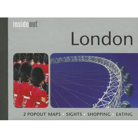 - London Insideout Travel Guide : Pocket Size London Travel Guide with Two Pop-Up Maps