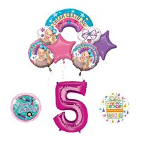 Mayflower Products JoJo Siwa Birthday Balloon Bouquet Decorations and Party Supplies