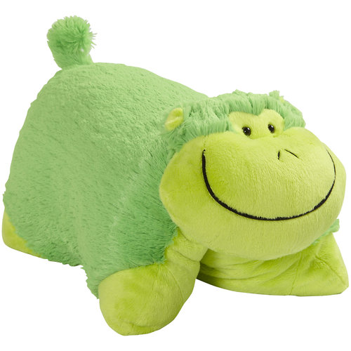 Pillow Pets Neon Green Monkey