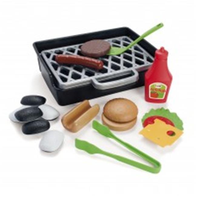 American Educational DT-4600 Bbq Burger & Hotdog Set for Baby Toys